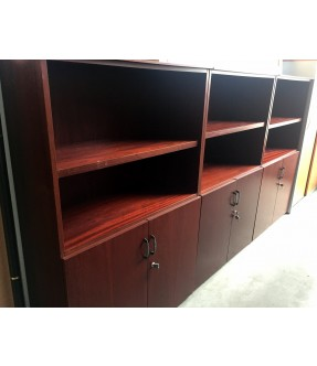 MUEBLE MEDIANO CAOBA